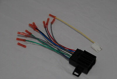 Chevy Blazer 1973-1991 Factory Stereo to Aftermarket Radio Harness Adapter