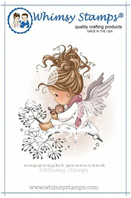 Whimsy Stamps - Cling Mounted Rubber Stamp - Lullaby