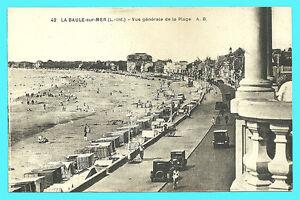 CPA-44-la-BAULE-sur-Mer-Vista-generale-della-spiaggia
