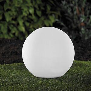 XL LED Solarkugel Gartenkugel 35cm Leuchte Farbwechsel RGB LK01-3 B-Ware