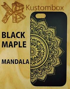 MANDALA-HENNA-FLOWER-BLACK-MAPLE-TIMBER-WOOD-iPHONE-5-6-6-PLUS-SE-CASE