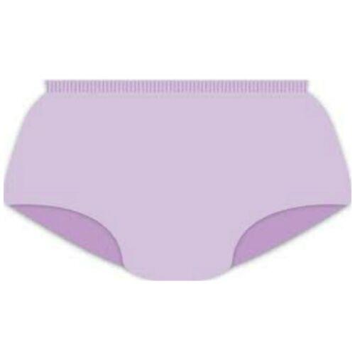 Le Ragazze Senza Cuciture Pantaloni Slip Mutande-pacco 1 PAIA-Viola-smartknitkids