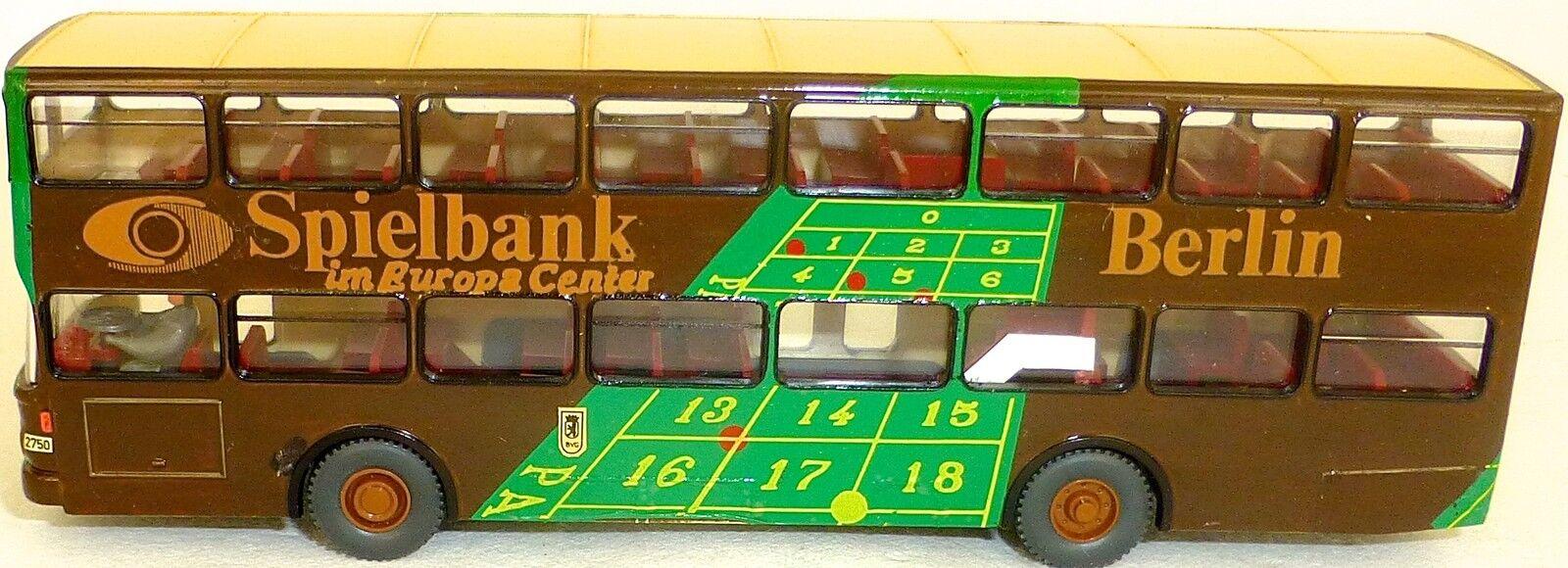 CASINO Berlin 99e 99e 99e werbebus on SD 200 gesupert de WIKING BUS h0 1:87 be43 å | Outlet Online Store  897b89