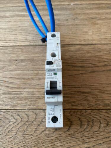 Eaton MEM Memshield 2 32a Type C RCBO 30mA MCH132 10kA MR30