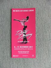 Dirty Dancing, Admiralspalast Berlin 2017, Musical Flyer