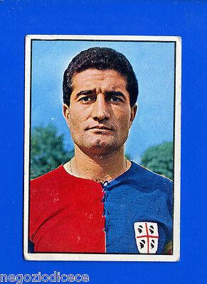LONGONI CAGLIARI -Rec Figurina-Sticker CALCIATORI PANINI 1968-69