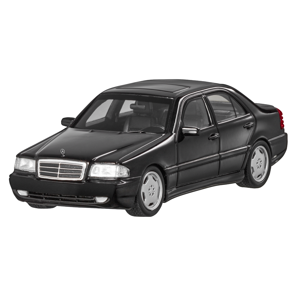 Mercedes Benz W 202-C 43 AMG 1997-2000 Negro Limitado 1 43 Nuevo Emb.orig