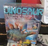 4m Dig A Dinosaur Stegosaurus Model Kit Sealed