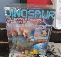 4m Dig A Dinosaur Stegosaurus Model Kit Sealed
