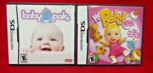 My-Baby-Girl-Baby-Pals-Nintendo-DS-Lite-3DS-2DS-2-Game-Lot-Tested