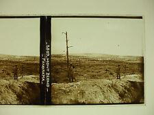plaque photo guerre 14-18 mont blond champagne poilus soldats  WWI