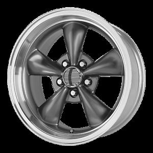 Ford Mustang Bullitt Style Wheel 18x9 30 Anthracite 5x114.3 5x4.5 QTY 1