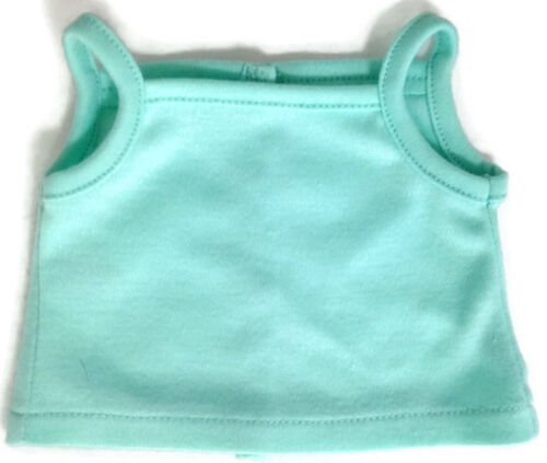 """Mint Green Knit Tank Top Shirt made for 18/"""" American Girl Doll Clothes"""