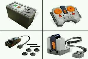 Image is loading Lego-Power-Functions-Train-Set-8884-8879-88000-