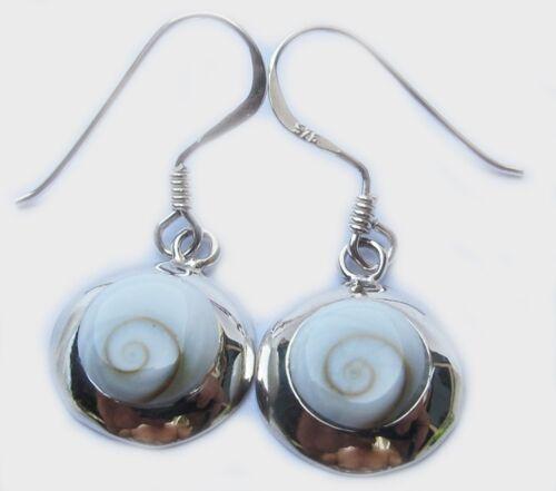 Beautiful Shiva Eye Earring Sterling Silver