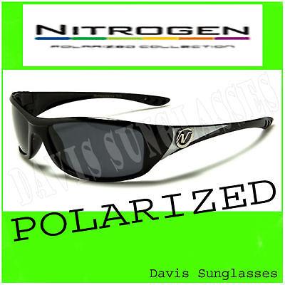 Nitrogen Polarized Sunglasses NT701804PZ Davis B2 fishing sunnies black brown