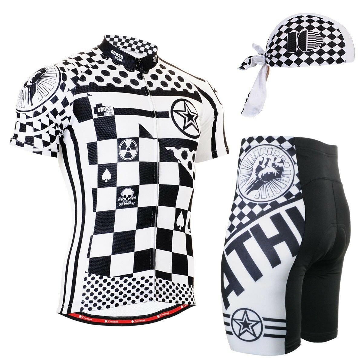 FIXGEAR CS-602-SET Cycling Jersey & Shorts Padded, Bicycle Bicycle Padded, Wear, MTB Road Bike 4f162e