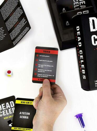 Dead Celebs Celebrity Guessing Card Game