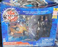 Bakugan Mechtongan Extension Pack Gray Haos Razenoid/deezall & 2 Bakunano/cards