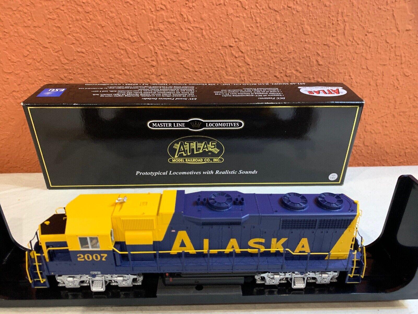 Escala Ho Atlas oro Loco artículo  10002411 GP38 RD 2007 nuevo equipado con DCC de Alaska