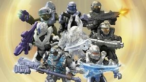 4-HALO-Mega-Construx-STORMBOUND-Series-Figures-SEALED-NO-DUPLICATES