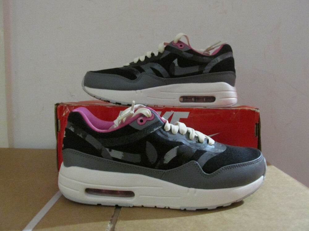 Nike Femme Air Max 1 Cmft Prm Tape Baskets 599895 006 Baskets De Dégagement-