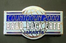 HRC Hard Rock Cafe Jakarta Millennium Logo 2000 LE1000