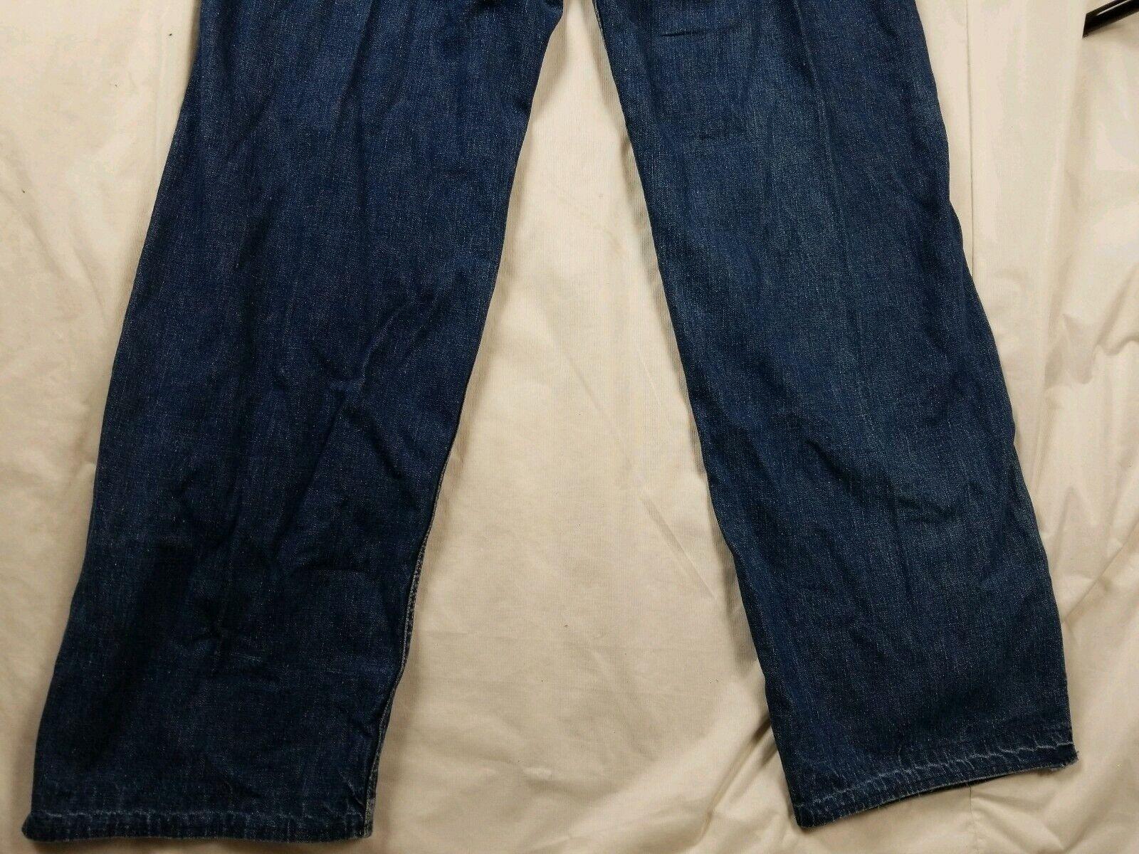 Vintage 1940s Lee High Waisted Side Zip Jeans Usa… - image 7
