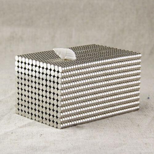 50-200Pcs Super Strong Round N35 Neodymium Magnets Rare Earth Disc Fridge Craft