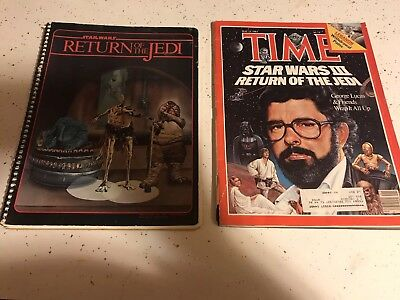 Unread Vintage 1983 Star Wars:Return of Jedi Poster Book Magazine #1-3 Set of 3