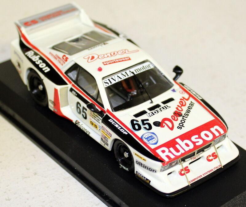 BEST 1 43 Scale - 9224 LANCIA Beta Montecarlo Le Mans 1982 Perrier Salam