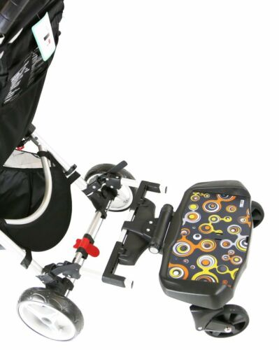 Pram Buggy Board With Seat Or Saddle Compatible With Mountain Buggy Swift