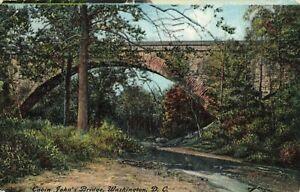 Postcard-Cabin-John-039-s-Bridge-Washington-DC