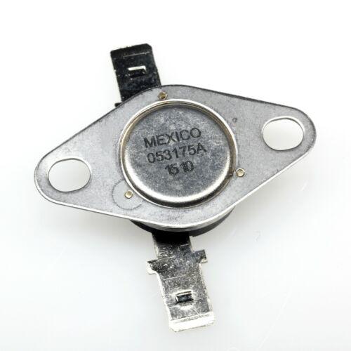 1x New SENSATA 053175A-160Y 175°F Bimetal Disc Thermostat//Switch open on rise