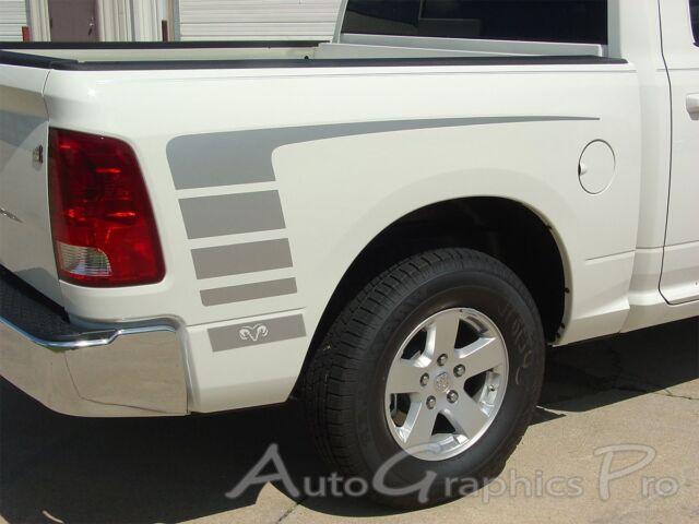 2009 2018 Dodge Ram 1500 Vinyl Graphics Power Side Decals