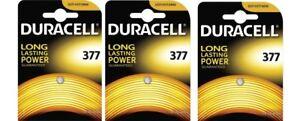 ENVOI-AVEC-SUIVI-Lot-de-3-piles-377-Duracell-SR626sw-Oxyde-d-039-argent-SR66