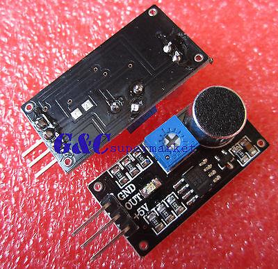 3PCS Sound Detection Sensor Module Sensor Smart car for Arduino M73