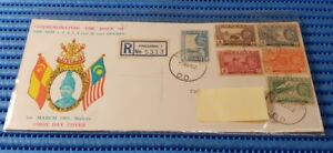 1962-Malaya-First-Day-Cover-Selangor-New-1-2-4-5-8-20-Cent-Stamp-Issue-Rare