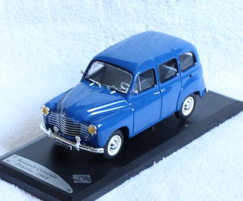 RENAULT COLORALE Prairie BLU 1953 1:43 solido modello di auto