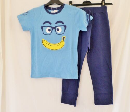 Ladybird Boys 2pc Banana T Shirt & Joggers Jogging Set in Blue 12 ...