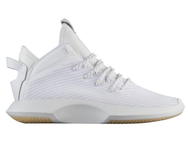 Adidas Crazy 1 ADV Primeknit Mens AH2076 White Gold Basketball Shoes Size 13