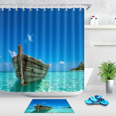 72x72/'/' Bathroom Fabric Waterproof Shower Curtain 12 Hooks /& Bath Mat Hypnosis
