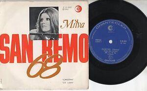MILVA-raro-disco-45-giri-STAMPA-BRASILIANA-Canzone