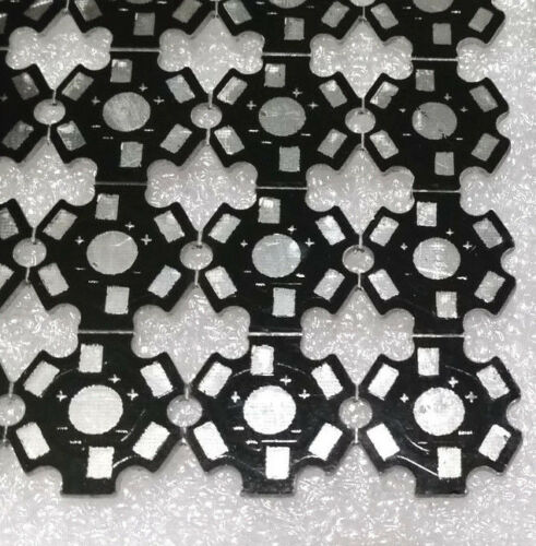 100Pcs 1W 3W 5W High Power Led Heat Sink Aluminum 20mm Base Plate