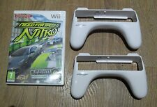 NEED FOR SPEED NITRO + 2 X WHEELS=NINTENDO Wii=DRIVING GAME=CAR=FIGHT TO FINISH