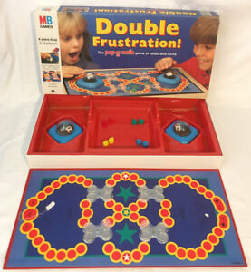 Double-Frustration-Board-Game-1989-MB-Milton-Bradley-Vintage-Rare