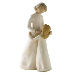 Willow-Tree-Mother-amp-Daughter-Figurine-26021-Mum-Girl-in-Branded-Gift-Box
