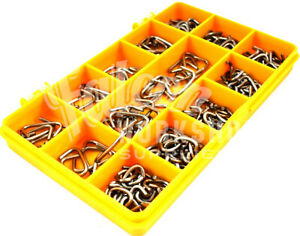 150-PIECE-3-8-034-1-2-034-3-4-034-ASSORTED-HOG-RINGS-FENCING-CAGES-CRIMPING-SHOCK-KIT