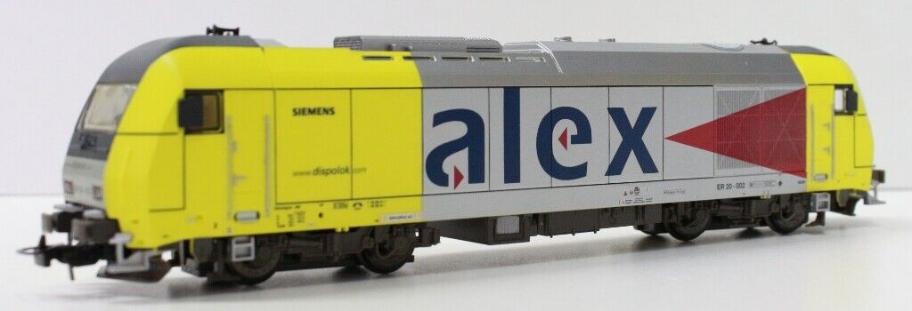 57130LA Piko Locomotora Eléctrico ER20.002 Alex Siemens FerroCocheril Private