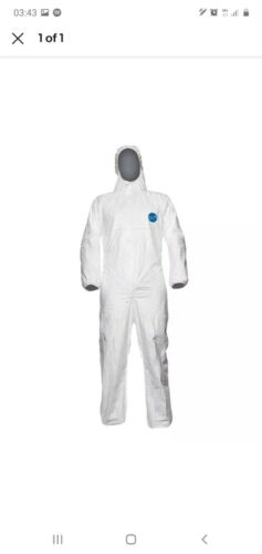 TYVEK 500 XPERT DISPOSABLE COVERALL //OVERALL WHITE XXL DISPOSABLE